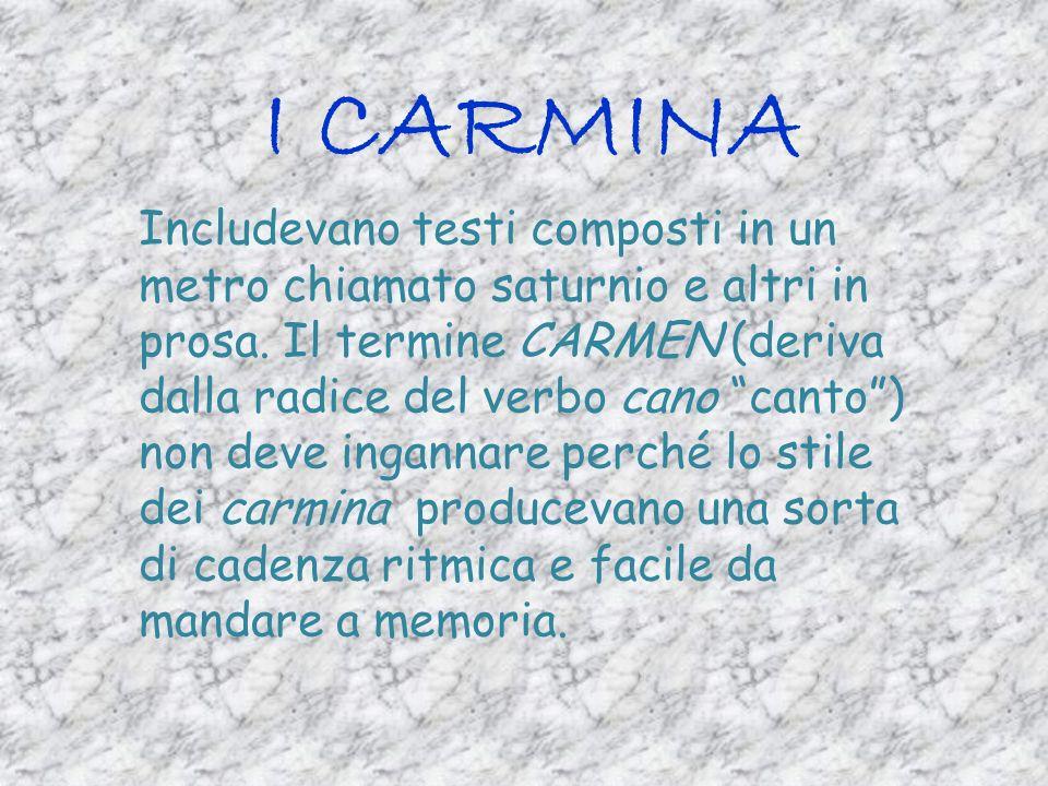 I CARMINA