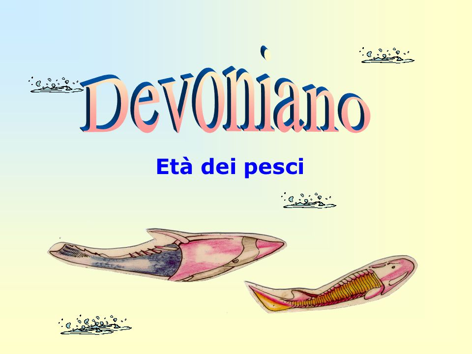 Devoniano Età dei pesci
