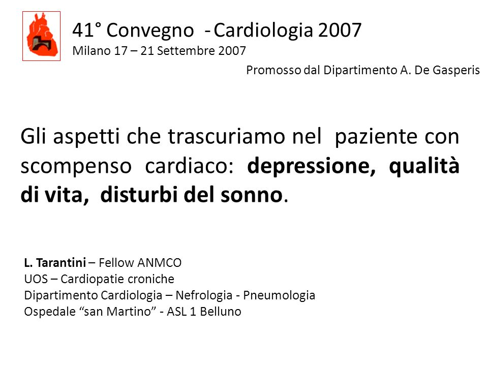 41° Convegno - Cardiologia 2007