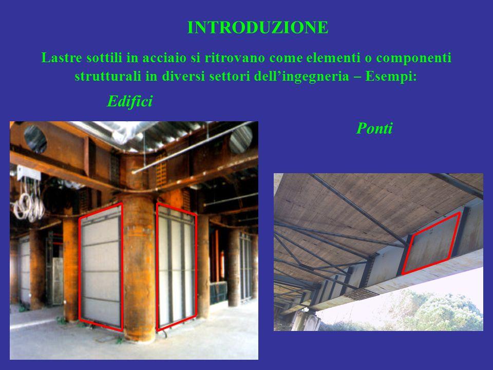 INTRODUZIONE Edifici Ponti
