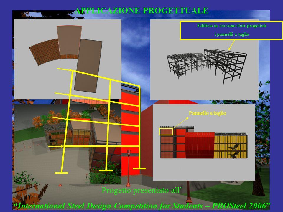 APPLICAZIONE PROGETTUALE Edificio in cui sono stati progettati