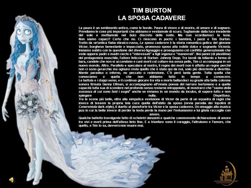 TIM BURTON LA SPOSA CADAVERE