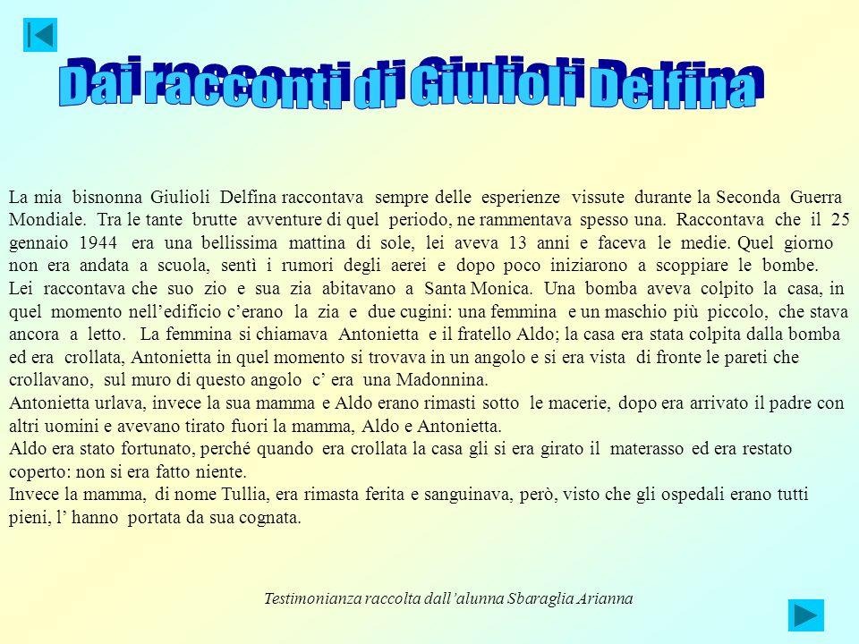 Dai racconti di Giulioli Delfina
