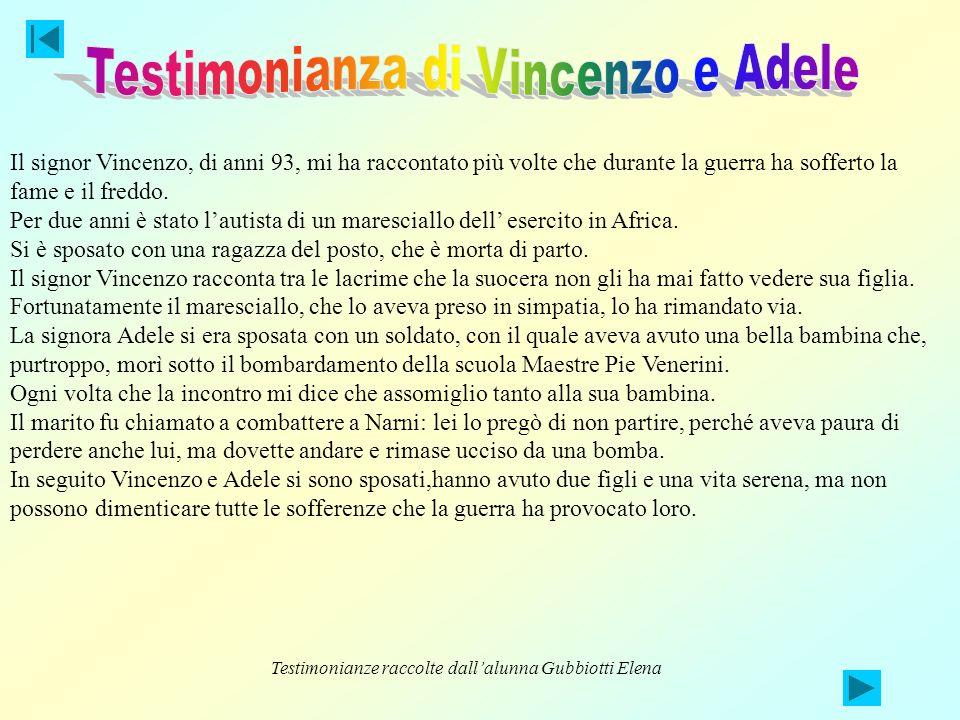 Testimonianza di Vincenzo e Adele