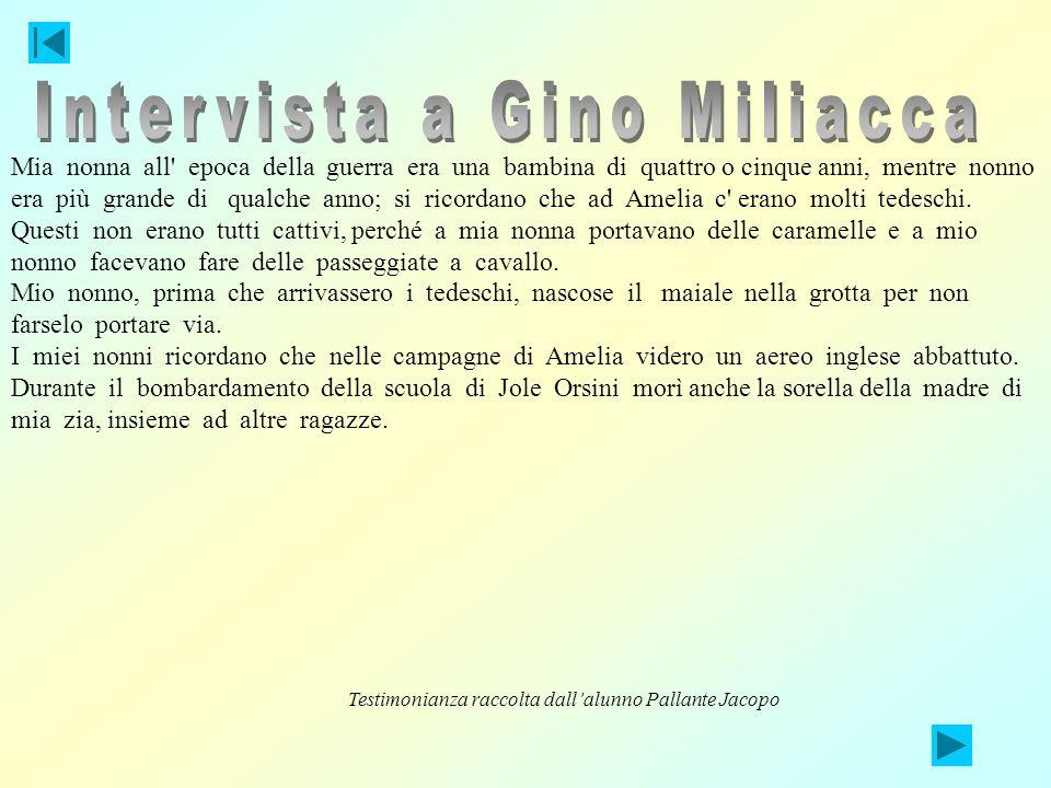 Intervista a Gino Miliacca
