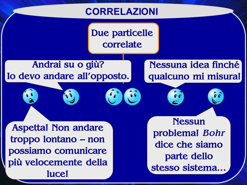 Due particelle correlate