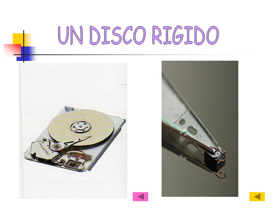 UN DISCO RIGIDO