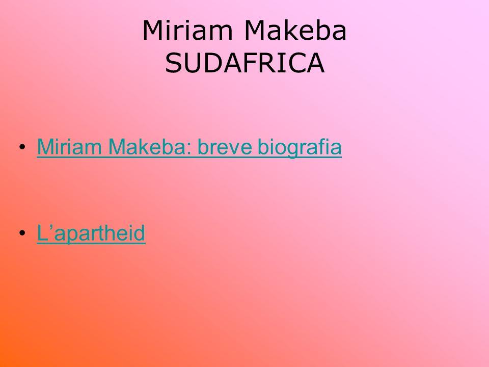 Miriam Makeba SUDAFRICA