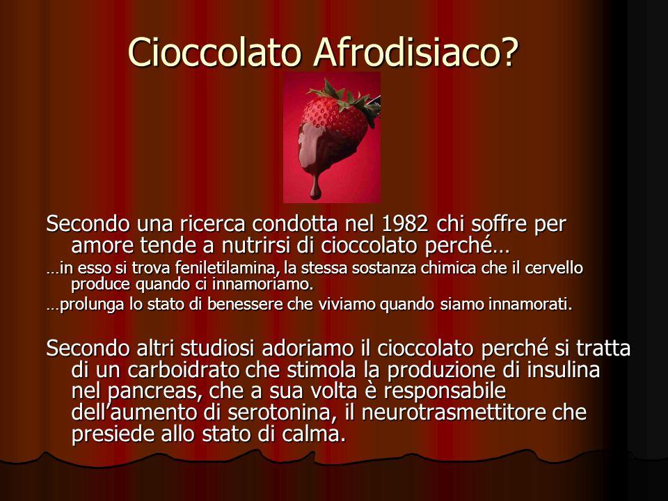 Cioccolato Afrodisiaco