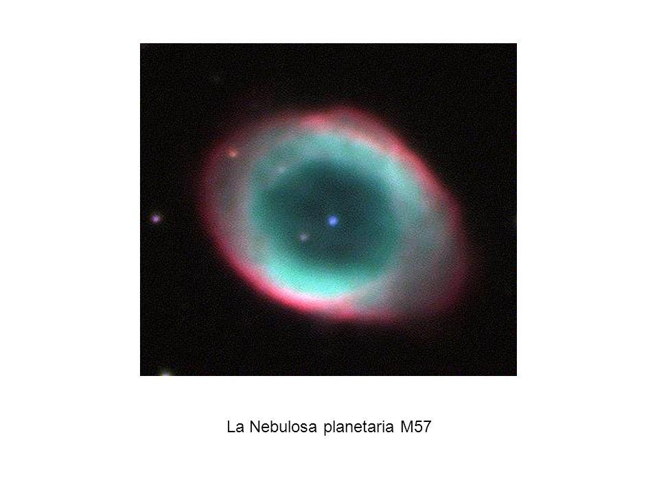 La Nebulosa planetaria M57