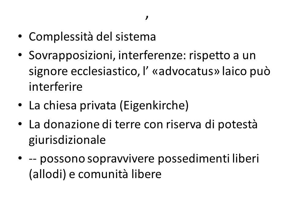 , Complessità del sistema