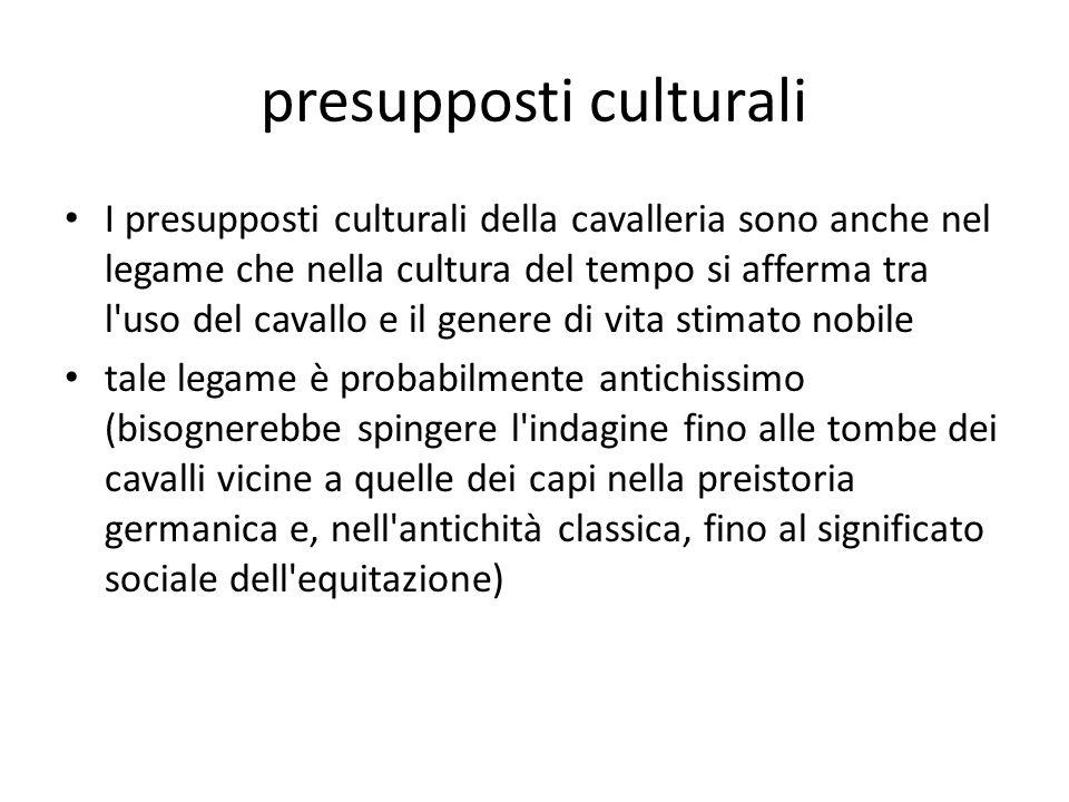 presupposti culturali