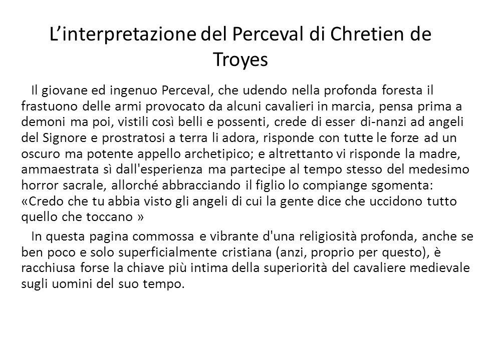 L'interpretazione del Perceval di Chretien de Troyes