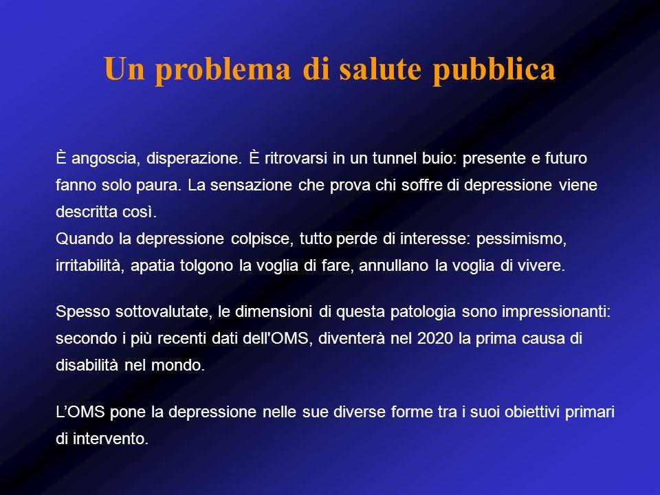 Un problema di salute pubblica