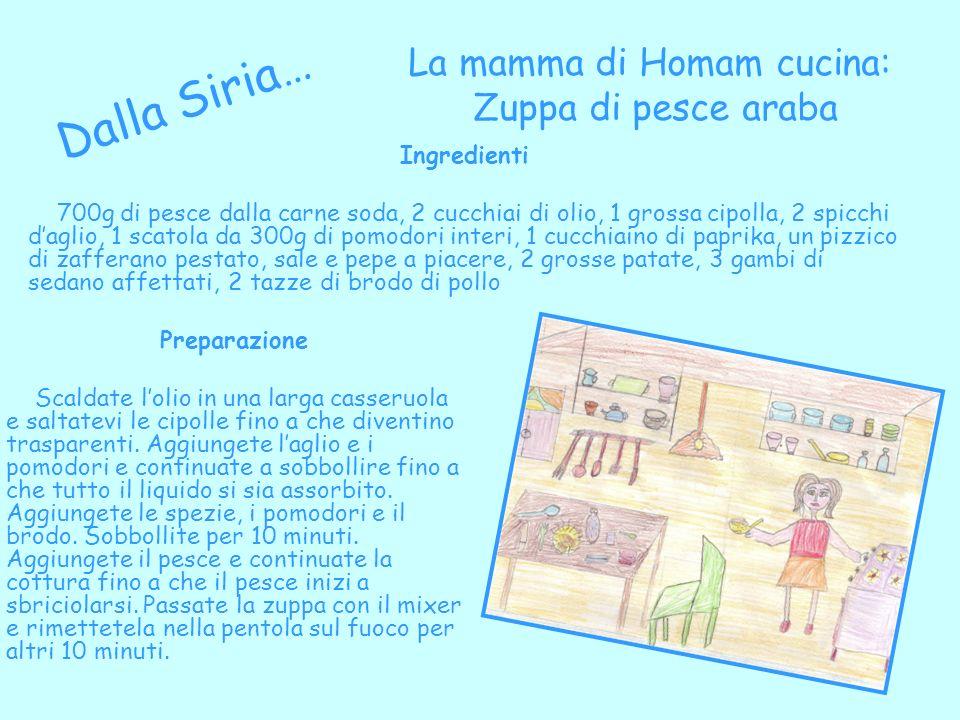 La mamma di Homam cucina: Zuppa di pesce araba