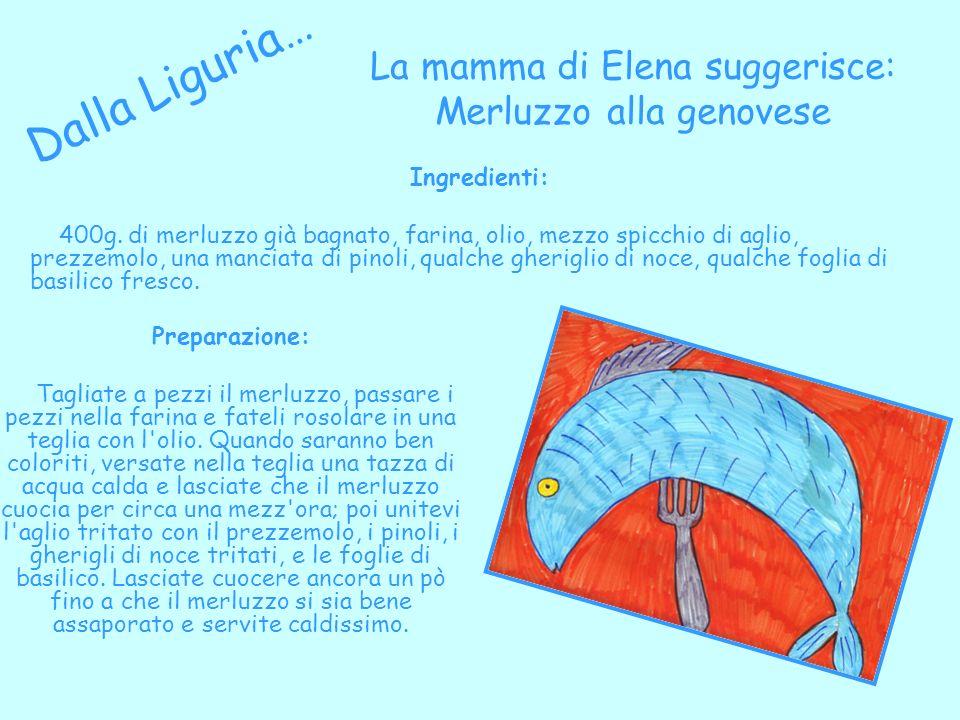 La mamma di Elena suggerisce: Merluzzo alla genovese