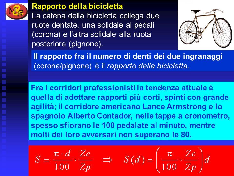 Rapporto della bicicletta