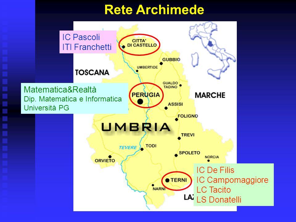 Rete Archimede IC Pascoli ITI Franchetti