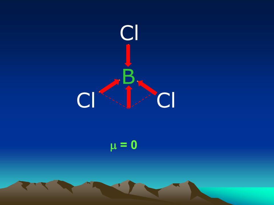 Cl B Cl Cl m = 0