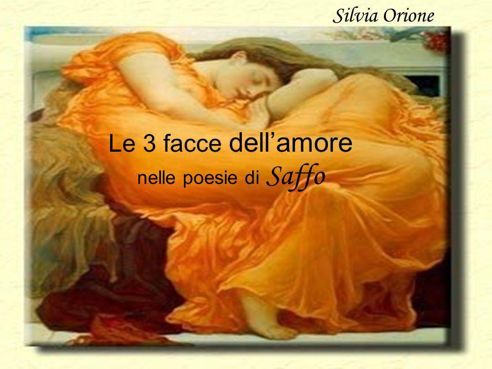 Le 3 facce dell'amore nelle poesie di Saffo