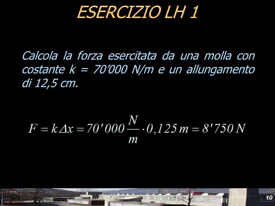 yydESERCIZIO LH 1.