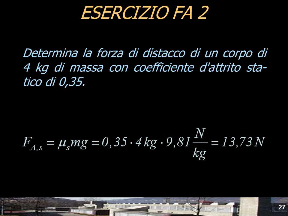 yydESERCIZIO FA 2.