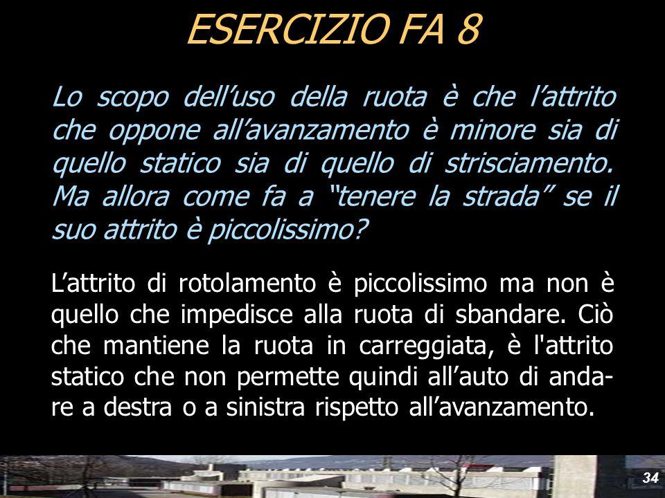 yydESERCIZIO FA 8.