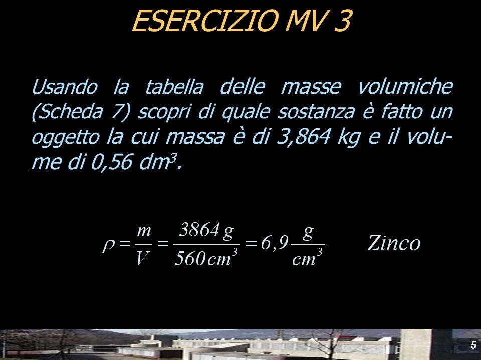 yydESERCIZIO MV 3.