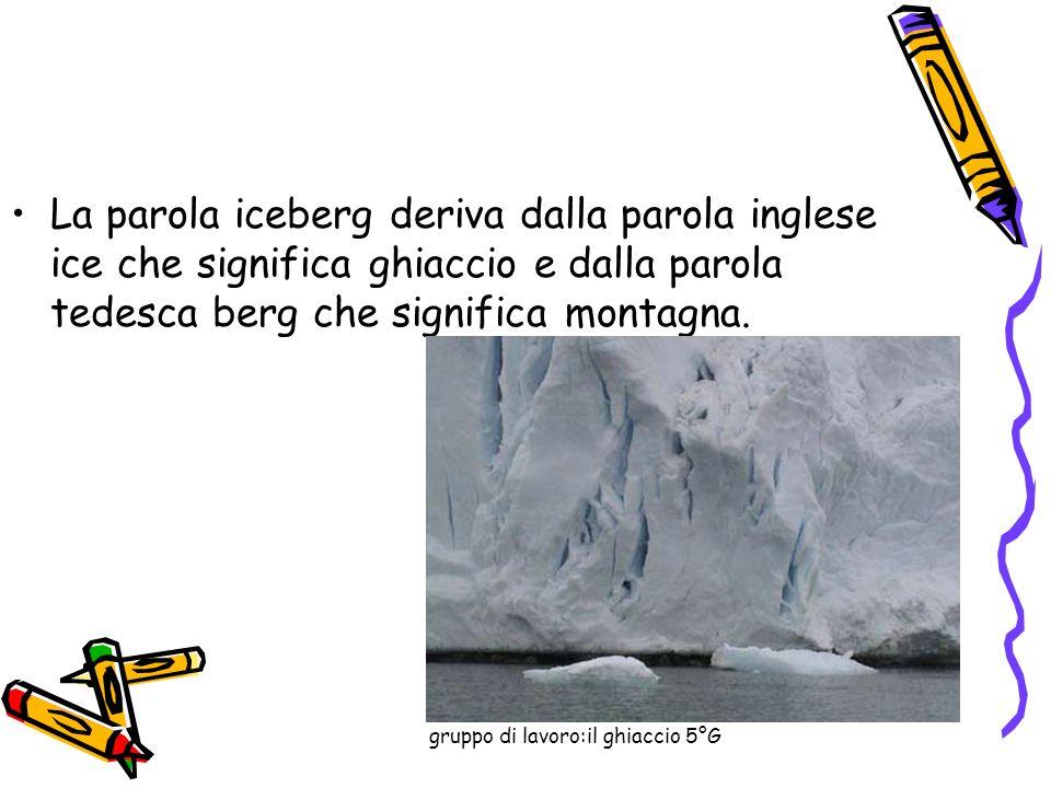 gruppo di lavoro:il ghiaccio 5°G