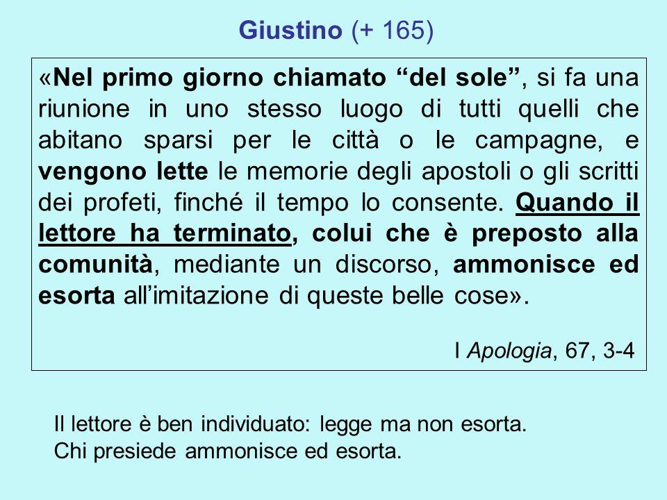 Giustino (+ 165)