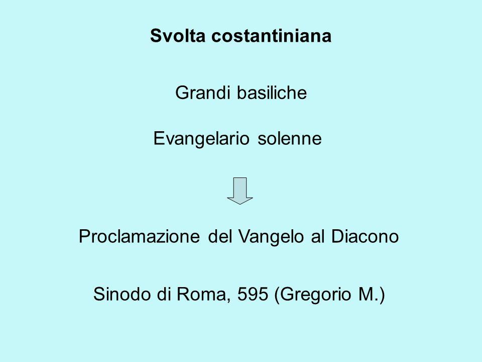 Proclamazione del Vangelo al Diacono