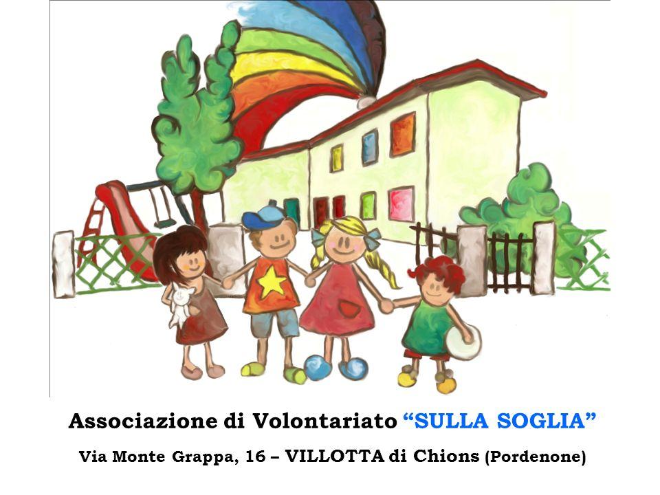 Associazione di Volontariato SULLA SOGLIA