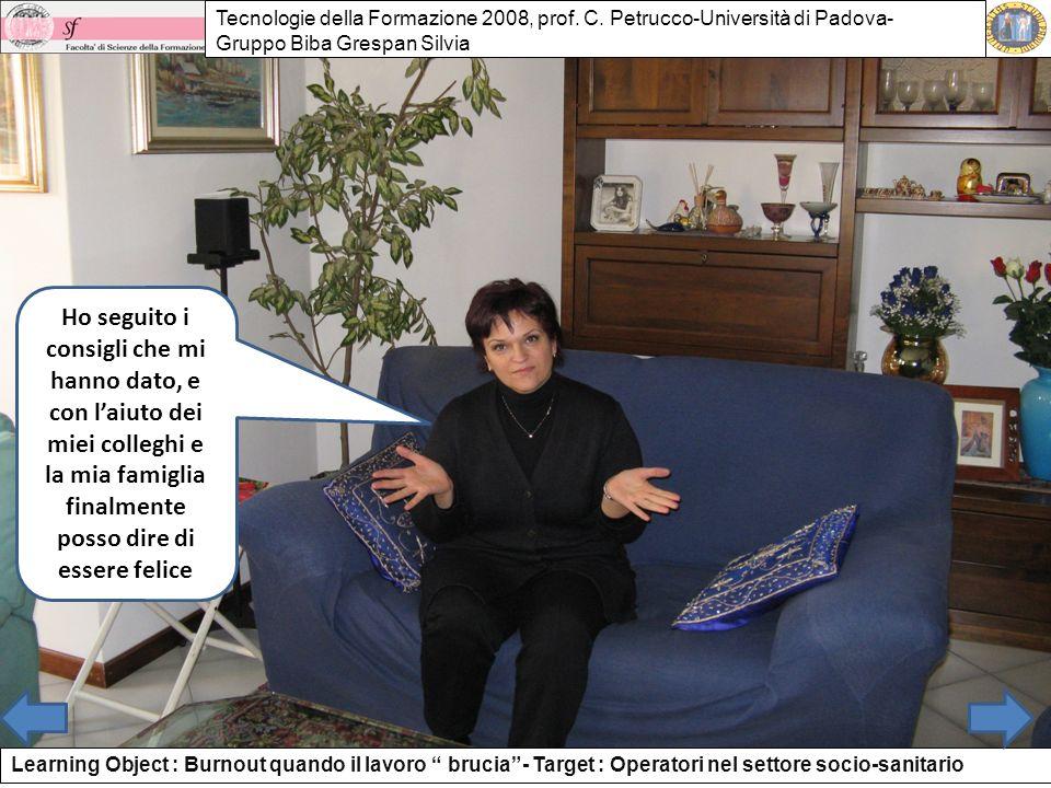 Tecnologie della Formazione 2008, prof. C
