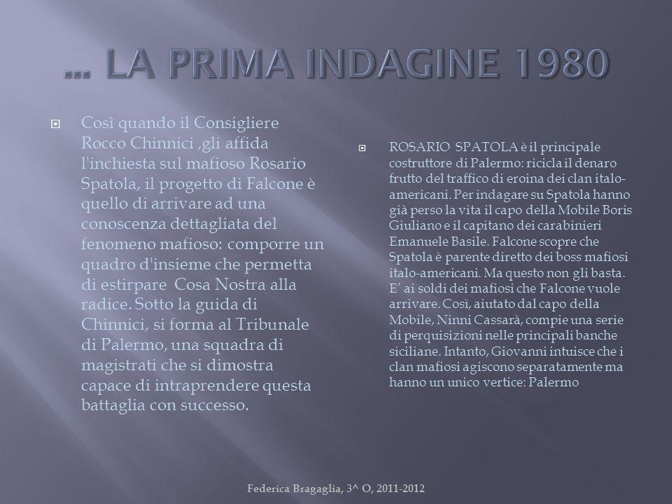 Federica Bragaglia, 3^ O, 2011-2012