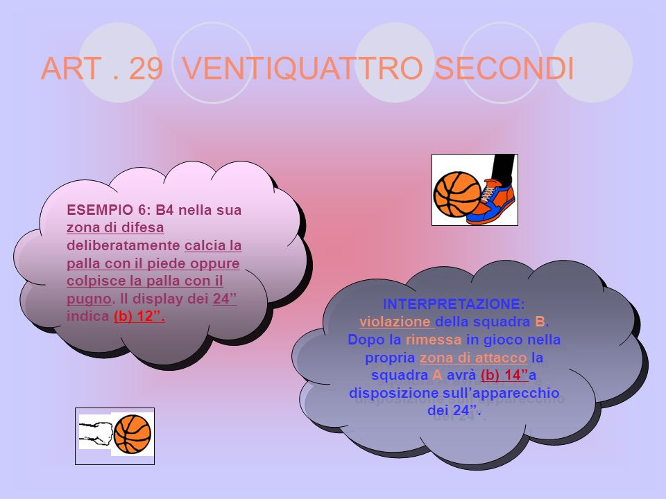 ART . 29 VENTIQUATTRO SECONDI