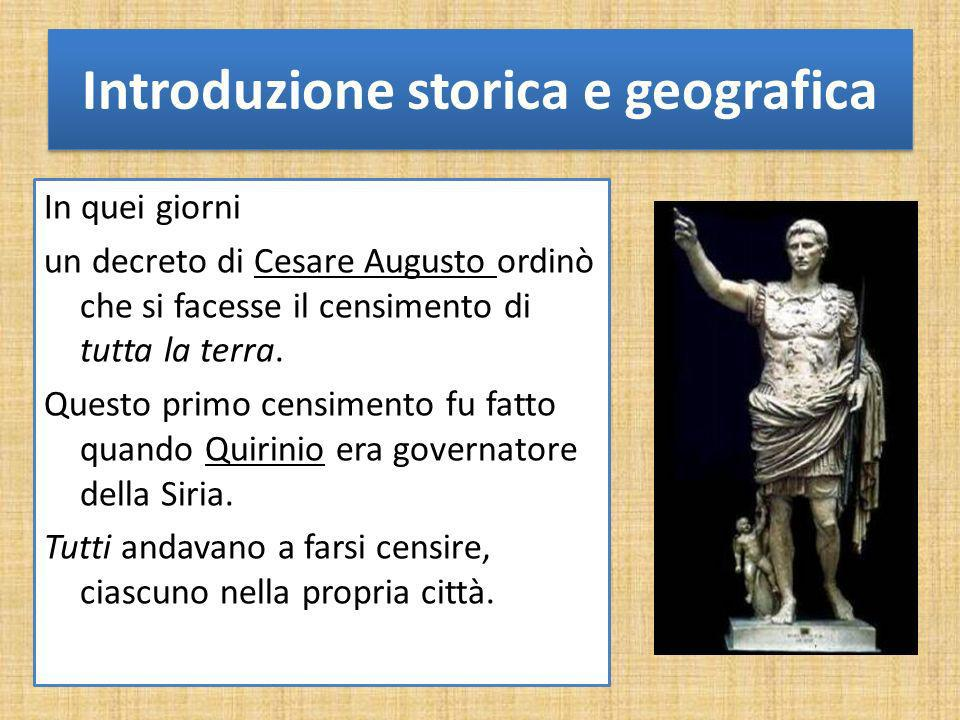 Introduzione storica e geografica