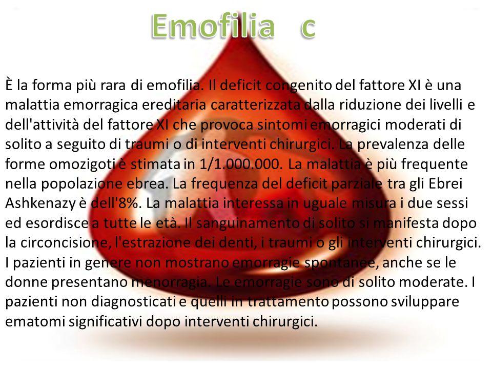 Emofilia c
