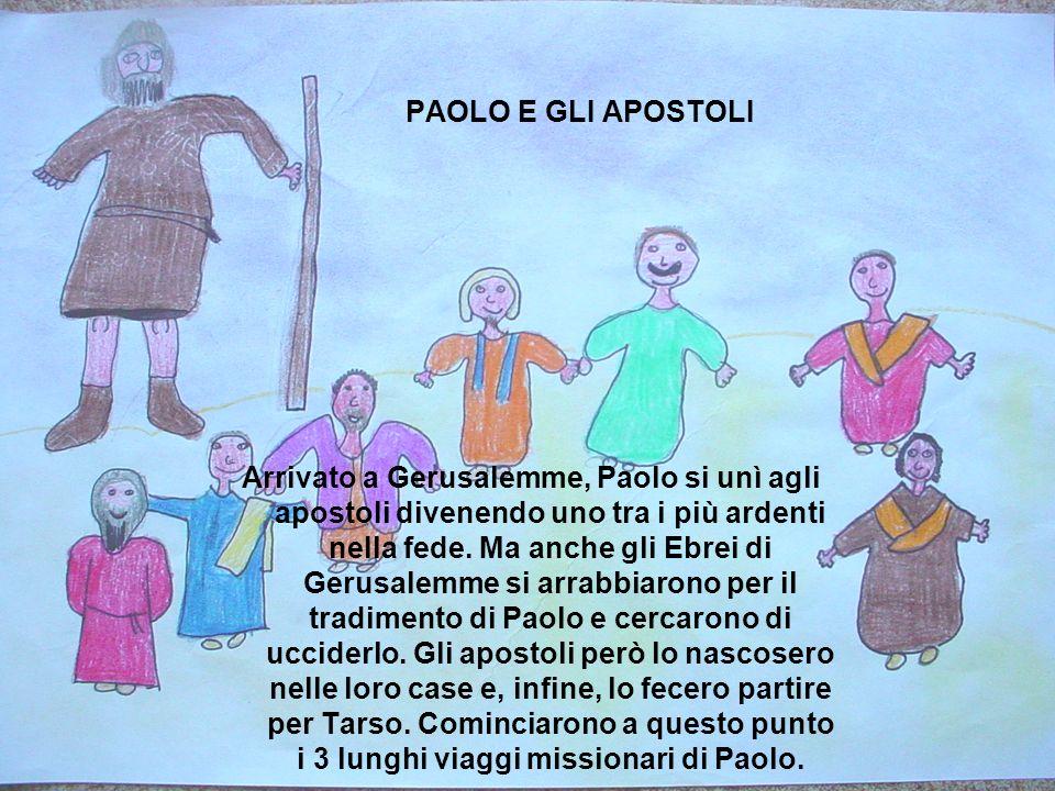 PAOLO E GLI APOSTOLI
