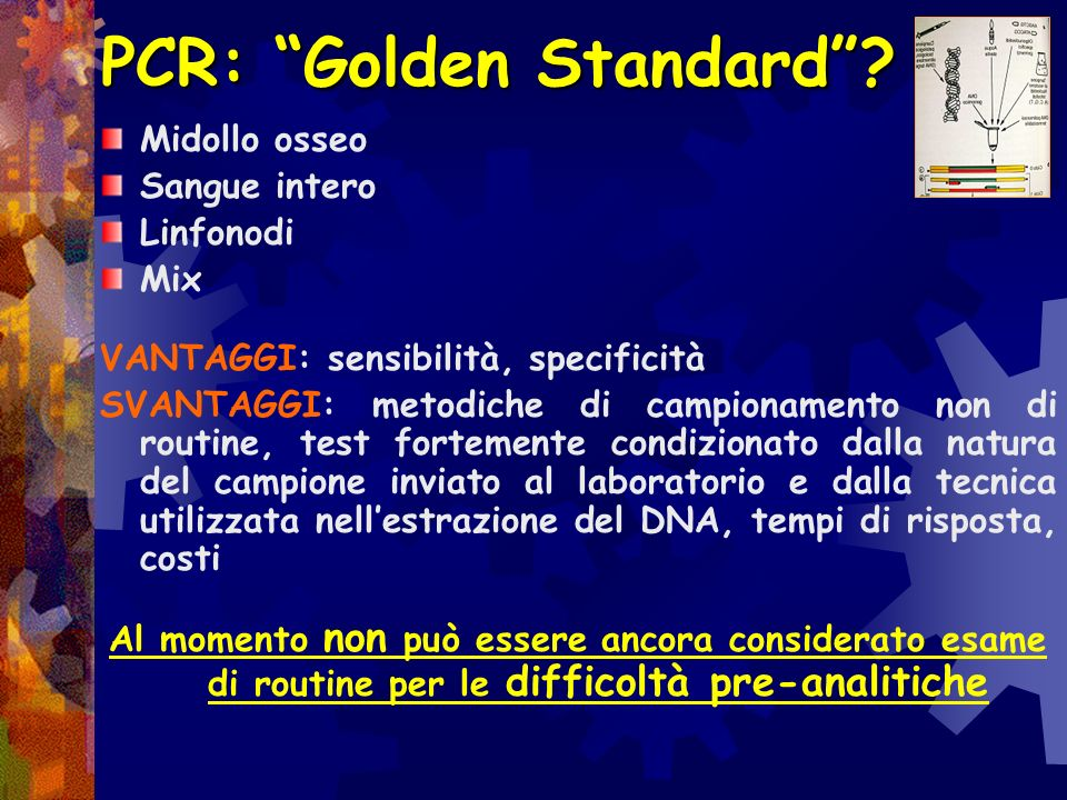 PCR: Golden Standard
