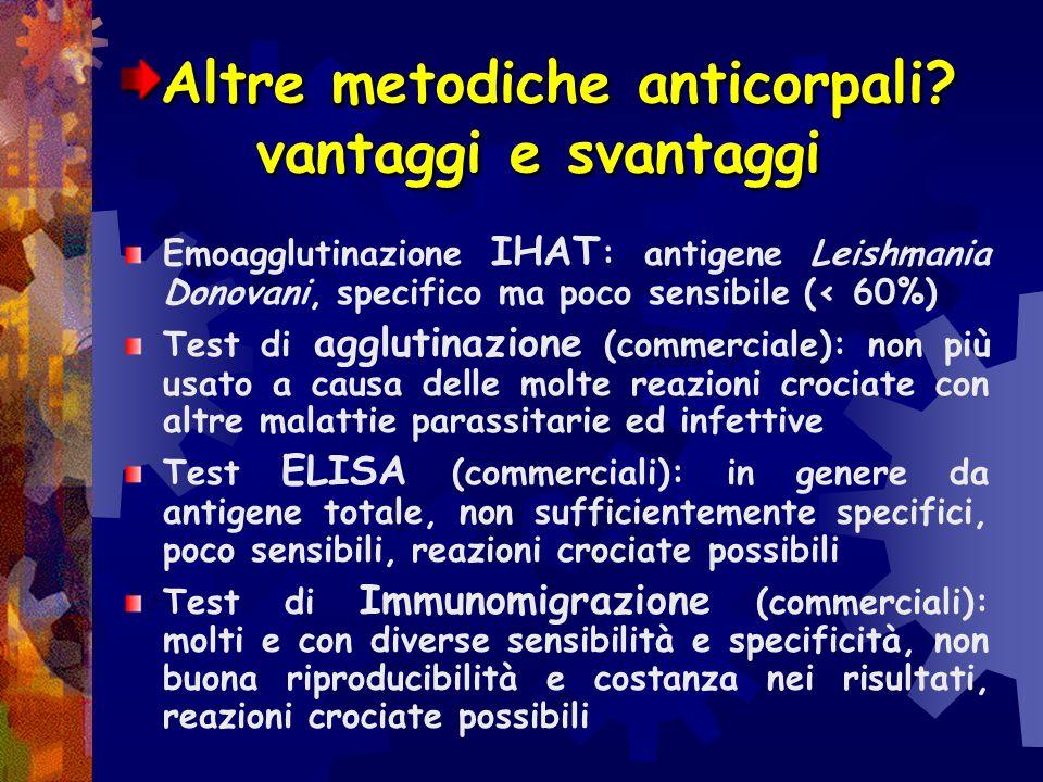 Altre metodiche anticorpali vantaggi e svantaggi