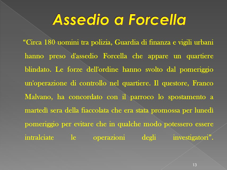 Assedio a Forcella