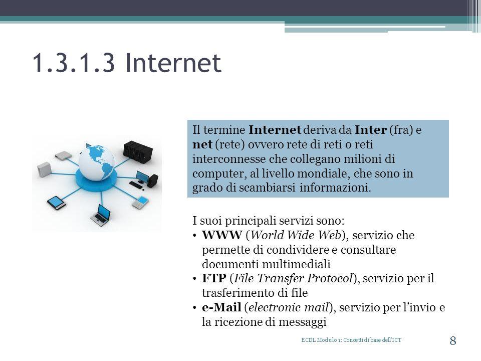 1.3.1.3 Internet