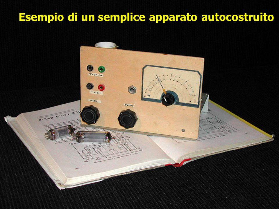 Esempio di un semplice apparato autocostruito