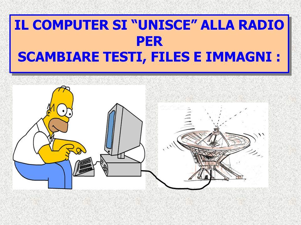 IL COMPUTER SI UNISCE ALLA RADIO PER
