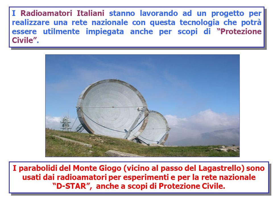 D-STAR , anche a scopi di Protezione Civile.