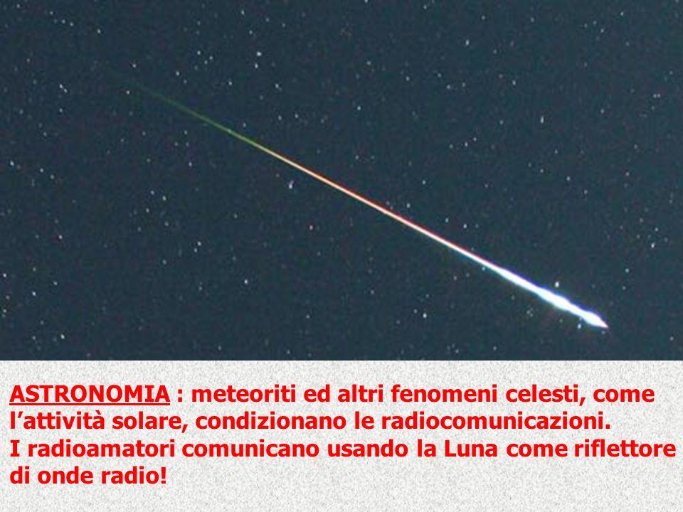 ASTRONOMIA : meteoriti ed altri fenomeni celesti, come