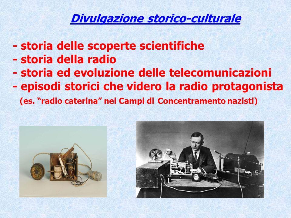 Divulgazione storico-culturale