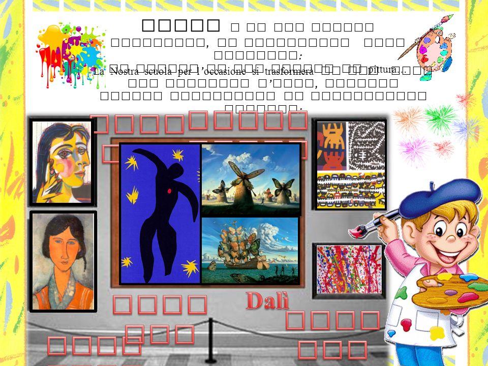 Artin e ozza Capogrossi Picasso Dalì Matisse Pollock Modigliani