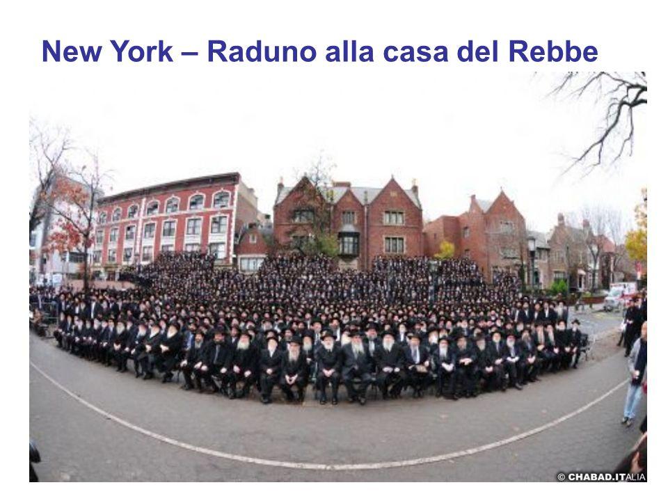 New York – Raduno alla casa del Rebbe