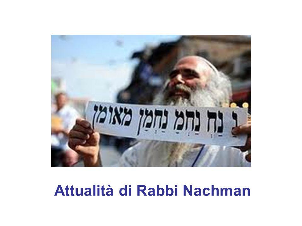 Attualità di Rabbi Nachman